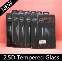 2.5D Закаленное стекло для Iphone 6 / Iphone 6 Plus Screen Protector 0.26mm взрывозащищенный фильм гвардии для iphone 5S Galaxy S4 S5 S6 Примечание 3/4