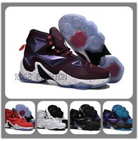 Cheap LeBron 13 WRITTEN IN THE STARS Shoes Mulberry Black Pu...