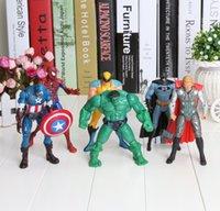 The Avengers Captain America Wolverine Thor Spiderman Batman...