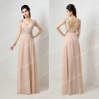 2014 Cheap Best Selling Chiffon Evening Gowns Under 80$ In S...