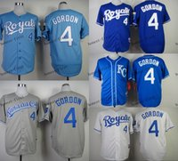 kansas city royals #4 alex gordon Cheap Wholesales Baseball ...