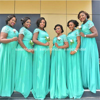Wholesale Modest Turquoise Bridesmaid Dresses - Buy Cheap Modest ...