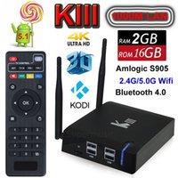 [Genuine]KIII Pre- installed Kodi Amlogic S905 TV BOX 2G 16G ...