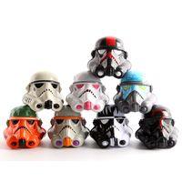 8pcs set 5cm Star Wars helmet Clone Trooper Stormtrooper PVC...