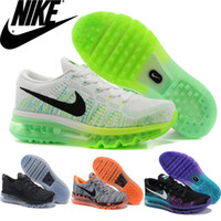 Nike Flyknit Air Max Premium Mens Womens Running Shoes, Whole...