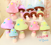 2015 Cute Baby Kids Girls Boys Stuffed Plush Toys Mushroom D...