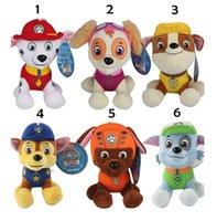 EMS free 8 Inch 6 Design Ryder Patrol Dog Plush dolls toys 2...