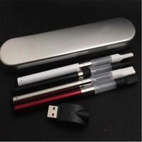 Ecigarette ce3 kit de arranque de la batería Metal Kits Vaporizador BUD Touch 510 Thread O Vape CBD Pluma CE3 Atomizer Para Mini Starter Kit
