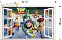 Cheap Toy Story Cartoon Window Wall Stickers For Kids Rooms ZooYoo1403  Decorative Adesivo De Parede Removable Pvc Wall Decal