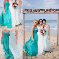 2015 Beach Alternative Bridesmaid Dresses Cheap Under 100$ P...