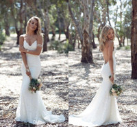 Katie May Backless Lace Mermaid Wedding Dresses 2016 Spring ...