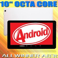 10 Inch Tablets Pc Allwinner A83T Octa Core Cortex A7 1. 3Ghz...