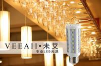 Usine en gros 5730 LED lumière de maïs LED Ampoules lumière 5 ~ 80 w peut construire 110 v courant constant non ai E27 Vis