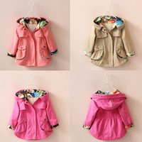 5 colors Children Jacket Girls Winter Coats Clothes Cardigan...