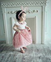 Summer Girls Outfits 2015 Korean Style Princess Suits Sequin...