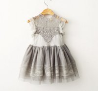 Summer Baby Girls Lace Dress Childrens Fashion Clothing Girl...