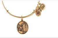 12pcs becsue de i love u Espérons Love Style Charm Bracelet extensible femmes Bangles Alex Ani bijoux pour femmes bangle
