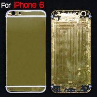 For iPhone 6 Limited Edition 24Kt Gold Plated Bezel Chassis ...