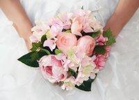 Дешевые Свадебные Букет венчания и сад Рука цветок Искусственные цветы украшения