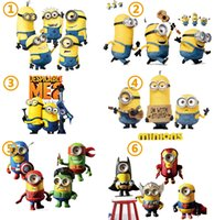 Minions Wall Stickers Despicable Me Decorative Wall Decals f...