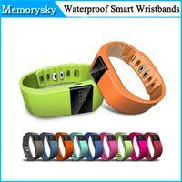 2015 Fitbit Flex Carga Estilo TW64 SmartBand impermeable IP67 inteligente pulsera de la pulsera de Bluetooth 4.0 para iOS Iphone Android Teléfono 002770