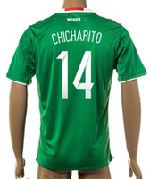 Thai Quality Customized 15- 16 new season Mexico home 14 CHIC...