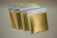 15*13+ 4cm Gold Aluminizing Bubble Envelope Express Mailer Bu...