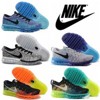 Nike Flyknit Air Max 2015 Premium Mens Womens Running Shoes,...