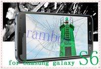 A prueba de explosiones de la alta calidad de cristal templado de Protección Protector de pantalla para Samsung Galaxy S6 teléfono móvil