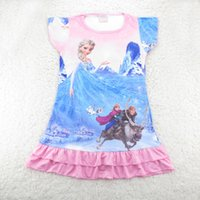 baby girl kids frozen pajamas PJ' S elsa anna frozen dre...