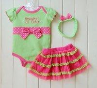 baby girl infant 3pc set grandma rock daddy' s girl flow...