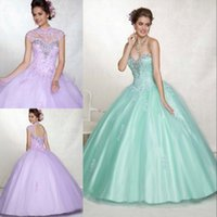 Custom Made Personalised Fashion Quinceanera Dresses High Co...