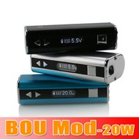 DHL free Authentic Kangside Bou 20w box mod 2200mAh mechanic...