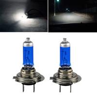 Wholesale- 2 Pcs H7 Xenon Gas Halogen Headlight Super White L...