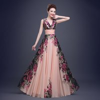 Designer 2017 Prom Evening Gowns Long Print Sweetheart Forma...