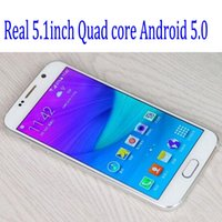 "Real 5. 1"" 1: 1 S6 G9200 Quad core MTK6582 Metal Cover 1G..."