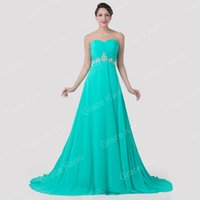 Grace Karin 2015 New Fashion Strapless Chiffon Ball Gown Eve...
