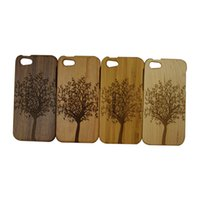 Bamboo Wood Case For iPhone 5 Wood Bamboo Carving Hard Cover...