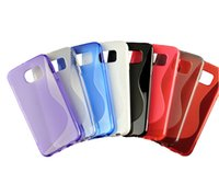 50pcs colorful frosted case For Samsung galaxy S6 back Cover...