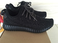 Discount BOOST 350 pirate black Running Shoes Trainers Shoes...