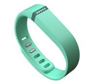 Correa de Fitbit Flex con el reemplazo del corchete TPU correa para la muñeca de actividad inalámbrica pulsera de la pulsera con el metal Corchete No Rastreador de 13 colores US02