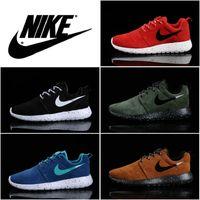 Mens NIKE ROSHE RUN Shoes 11 colors Mesh Sneakers best quanl...