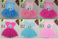 2- 10Y Summer New Frozen fever Elsa and Anna cotton short sle...