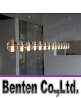 llfa1898 Livraison gratuite boule de cristal Bucci lustre plafond Lustre à LED lampes chambre salon allume un restaurant bureau de lustre