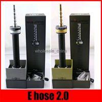 Square E Шланг 2,0 Подарочный комплект E шланг Starbuzz E Шланг 2,0 2200mAh Огромный Vapor Кальян аккумуляторная комплекты VS E ГОЛОВА