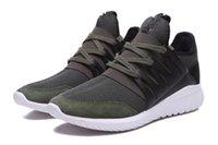 2016 tubular radial runner Sport shoes green black Runner Sc...