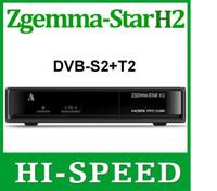2pcs Original Zgemma star H2 Enigma2 Combo DVB- S2+ T2 Twin Tu...