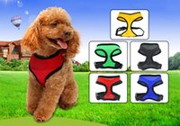 Soft Mesh cloth pet control comfort harness safety collar st...