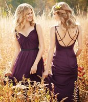 Jim Hjelm Bridesmaids Dresses V- Neck Sleeveless Backless Bri...