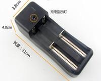 18650 16340 14500 10440 Chargeurs Chargeurs de batterie Double chargeur universel pour batteries rechargeables Li-ion 18650